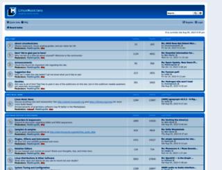 linuxmusicians.com screenshot