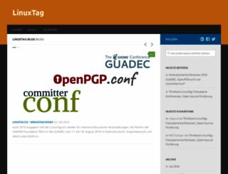 linuxtag.org screenshot