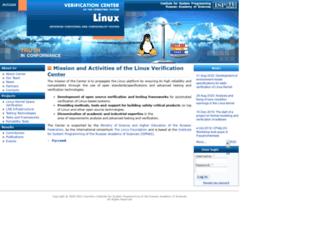 linuxtesting.org screenshot
