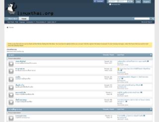 linuxthai.org screenshot