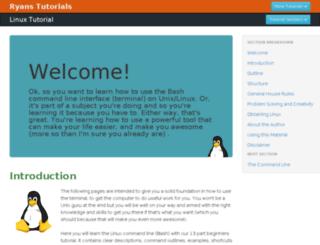 linuxtutorial.todolistme.net screenshot