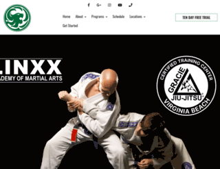 linxxacademy.com screenshot