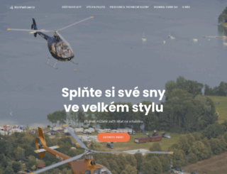 lion-helicopters.cz screenshot