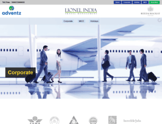 lionelindia.com screenshot