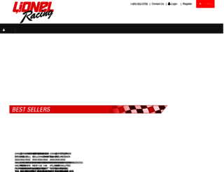 lionelracing.com screenshot