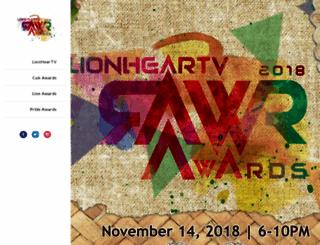 lionheartv.blogspot.com screenshot