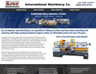 lionlathes.com screenshot