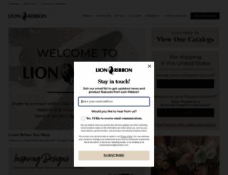 lionribbon.com screenshot