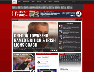 lions-tour.com screenshot