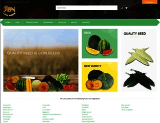 lionseeds.com screenshot