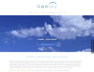 lionsky.com screenshot