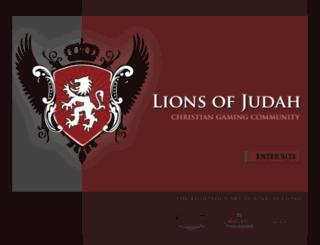 lionsofjudah.us screenshot