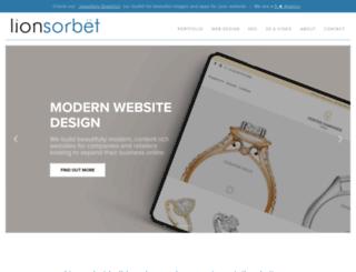 lionsorbet.com screenshot