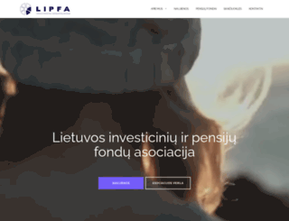 lipfa.lt screenshot