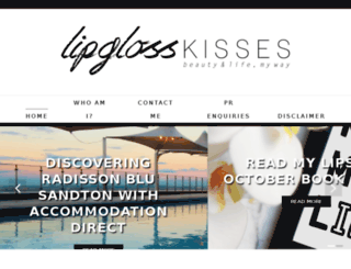 lipglosskisses.com screenshot