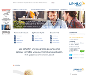 lipinski-telekom.de screenshot