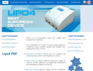 lipo4.com.pt screenshot