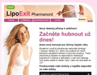 lipoexit.cz screenshot