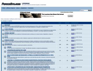 lipoma.foroactivo.com screenshot