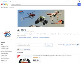lipoworld.de screenshot