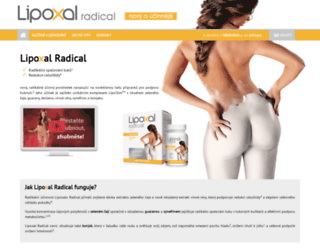lipoxal.cz screenshot