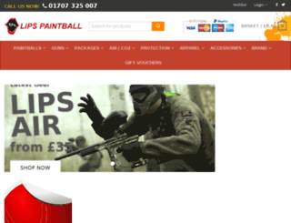lips-paintball.com screenshot