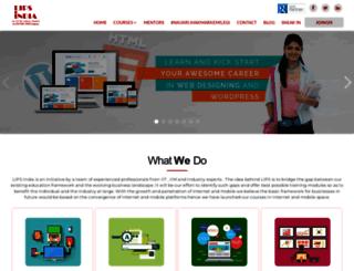 lipsindia.com screenshot