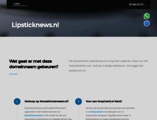 lipsticknews.nl screenshot