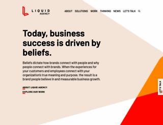 liquidagency.com screenshot