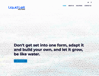 liquidleft.com screenshot