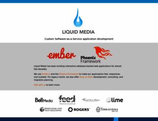 liquidmedia.org screenshot