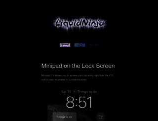 liquidninja.com screenshot