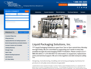 liquidpackagingsolution.com screenshot