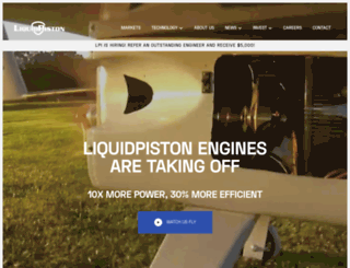 liquidpiston.com screenshot