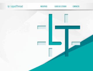 liquidthread.com.mx screenshot