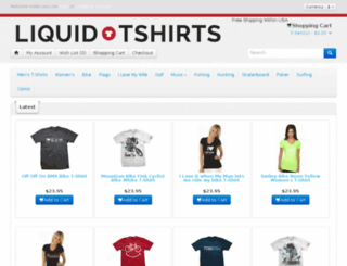 liquidtshirts.com screenshot