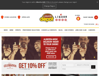liquorstoresgp.ca screenshot