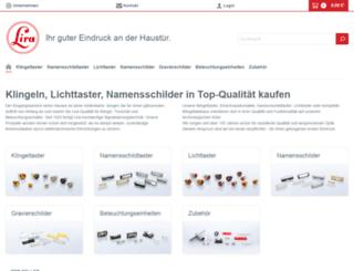 lira-gmbh.com screenshot