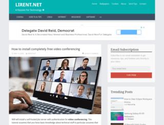 lirent.net screenshot