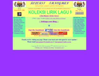 liriklagu.com screenshot