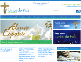 liriosdovale.org screenshot
