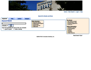 lis.sfldlib.org screenshot