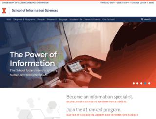 lis.uiuc.edu screenshot