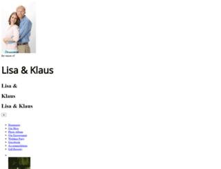 lisaandklaus.nearlyweds.com screenshot