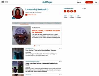 lisaauch1.hubpages.com screenshot