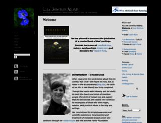 lisabadams.com screenshot