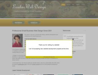 lisabee.com screenshot