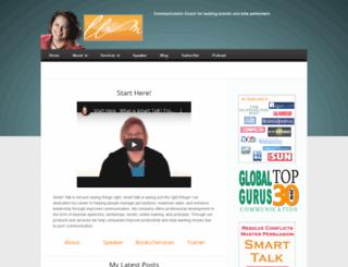 lisabmarshall.com screenshot