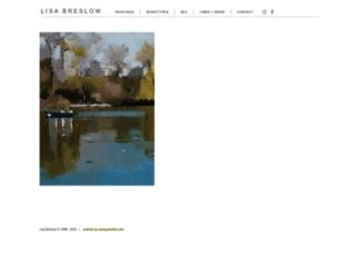 lisabreslow.com screenshot