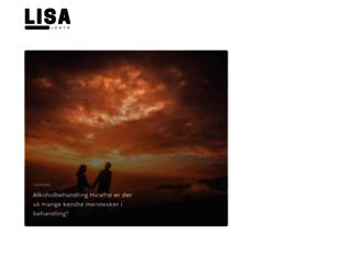 lisalents.dk screenshot